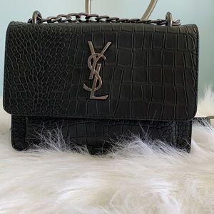 Saint Laurent woman's bag black YSL